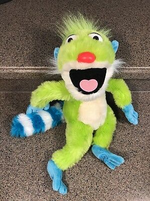 "Disney Store 17"" Treelo Plush Jim Henson Bear in the Big Blue House"