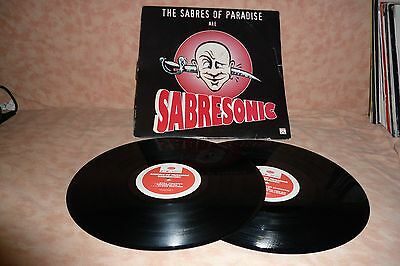 The Sabres Of Paradise – Sabresonic 2LP Techno Music