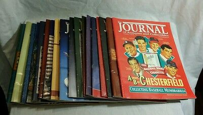 The Journal of Antiques & Collectibles Magazine Lot of 19 Issues 2006 thru 2012