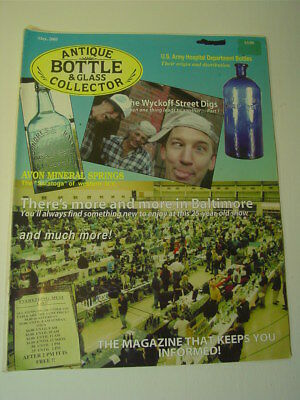 ANTIQUE BOTTLE & GLASS COLLECTOR Magazine May 2005