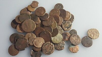 Lot 55  of Uncleaned Roman Coins