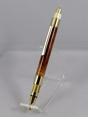 Handmade Ballpoint Pen with Red Mallee Burl. Free Gift Box! Great gift item. #3