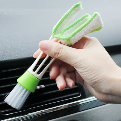 Car Cleaning Brush Trim Dashboard Auto Air Vents Detailing Tools Universal
