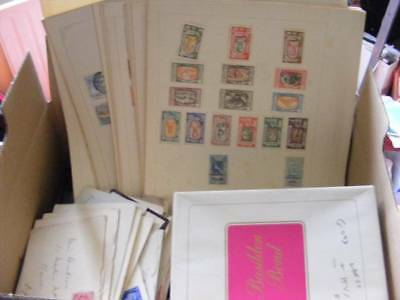 GB, Commonwealth & Foreign Hoard + large Quantity of Album Pages. Huge