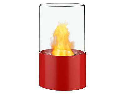 Circum Red - Ignis Ventless Tabletop Bio Ethanol Fireplace - Eco Friendly