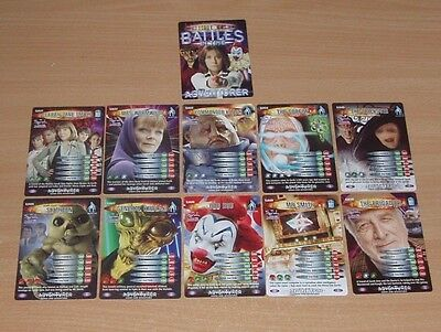 Doctor Who Battles in Time SARAH JANE ADVENTURES complete set Adventurer SJA