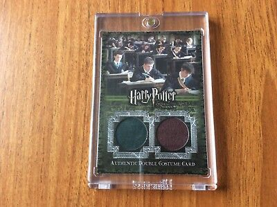 Artbox Harry Potter OOTP Authentic Double Costume Card Slytherin & Gryffindor.