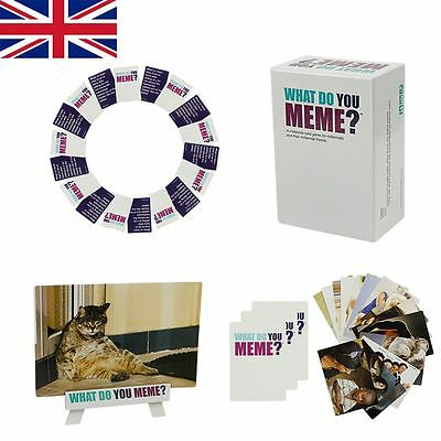 What Do You Meme?Party Social Media Card Board Game Fast Free Shipping to Basic