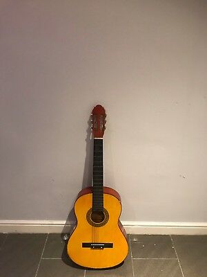 Childrens Classical Guitar Kids Pack 3/4 Size with Free Tuner