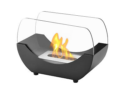 Liberty Black - Ignis Ventless Tabletop Bio Ethanol Fireplace - Eco Friendly