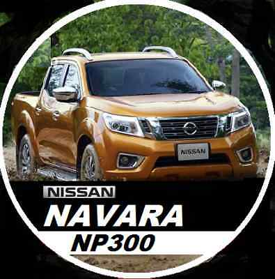 Nissan Navara D23 Np300 Series 2014 To 2015 Australian Series Workshop Cd