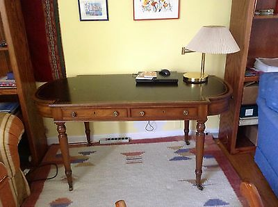 '78 Kittinger English Heirloom Desk with leather top in good condition.