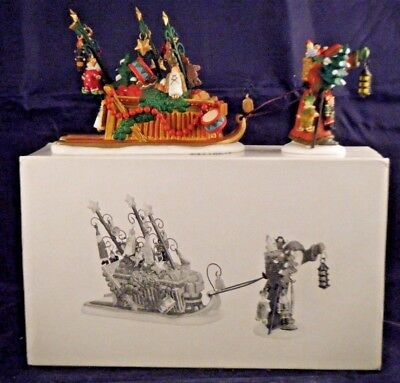 """Department 56 Dickens Village """"Father Christmas's Journey"""" #58407"""