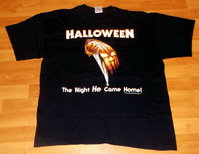 HALLOWEEN - The Night He Came Home - XL + backprint - '90s