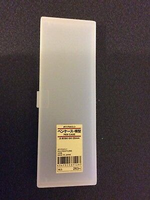 MUJI  Polypropylene pen case 184 x 64 x 25mm from Japan Used