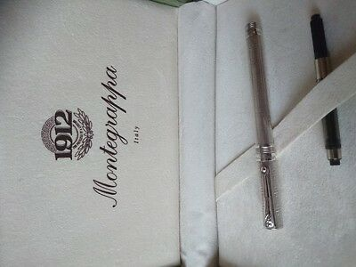 Montegrappa JULIET limited fountain pen (to 3000) - Sterling silver & 18K M nib