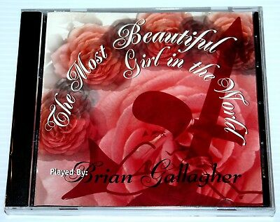Brian Gallagher - Most Beautiful Girl In The World - Rare Cd Single - Prince Npg