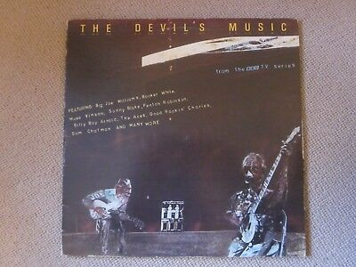 The Devil's Music - V/A blues vinyl double LP from BBC TV series in Ex condition