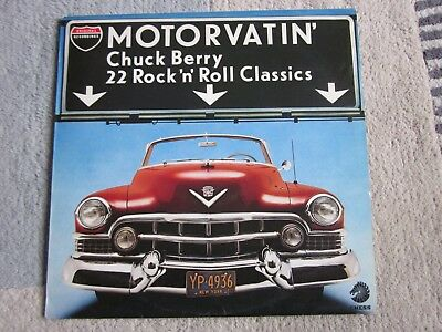 Chuck Berry - Motorvatin' vinyl greatest hits LP in VG condition