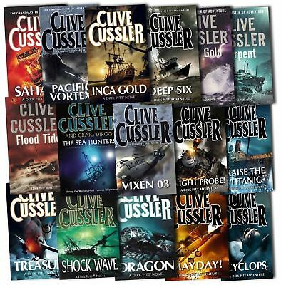 The Dirk Pitt Complete 20 MP3 Audiobooks Series by Clive Cussler Mp3 Unabridged