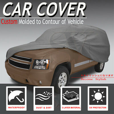 UV/Sun/Snow/Dust/Water Proof Car Cover Sedan Coupe Hatchback 200x70x47 Chevrolet