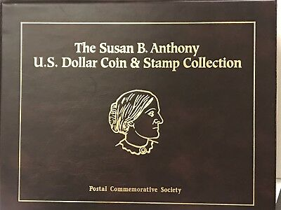 1979-1999 The Susan B. Anthony Dollar Coin & Stamp Collection - Commem. Society