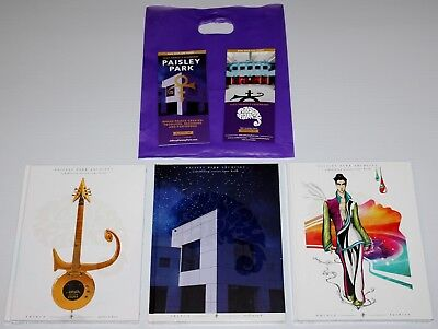 Prince - Paisley Park Tour Books - Set Of 3 - 2017 - With Bag And Flyer - Sealed