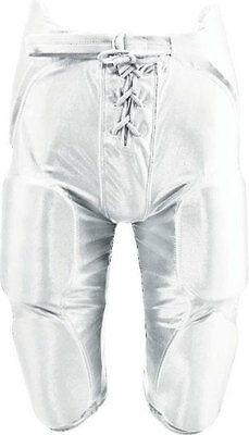 Alleson Integrated Padded American Football Pants Shorts - Youth M