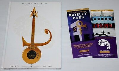 Prince - Paisley Park Archives Tour Book + Bag And Flyer - Guitar & Bass - New!