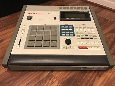 Akai MPC 60 MK1 Sampler Amazing Condition HXC SD Floppy Emulator MPC 3000 Update