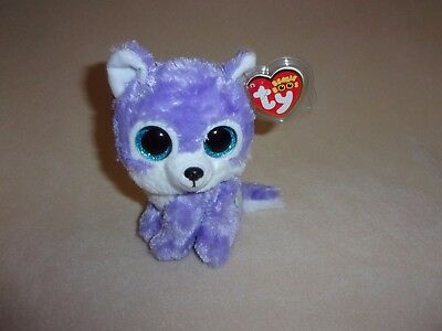 "Ty Mwmt Iris The Wolf Beanie Boo- 6"" Boos- Great Wolf Lodge Exclusive- In Hand!"