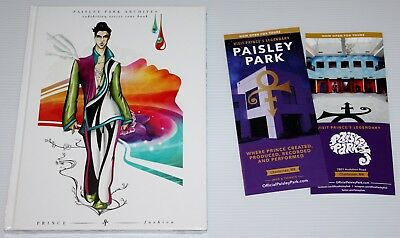 Prince - Paisley Park Archives Tour Book + Bag And Flyer - Fashion - Sealed!