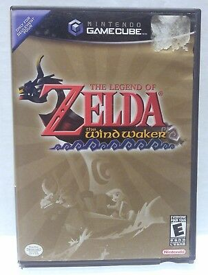 Legend of Zelda The Wind Waker Nintendo GameCube Game Tested Complete