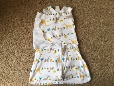 Halo Sleep Sack Swaddle Small 3-6 Months Safari