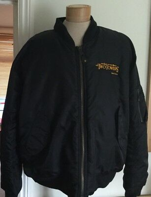 Promotional Lord Of The Rings The Two Towers Film Bomber Jacket M