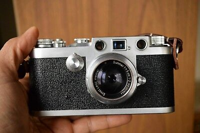 The Tower model 45 rangefinder, the improved Barnack Leica Camera