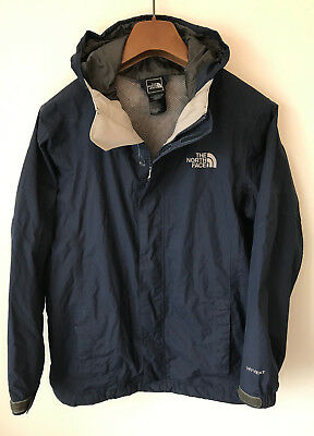 The North Face Waterproof Coat! Boys Age 14-16! Blue!! 38-40 Chest! Small Mens!
