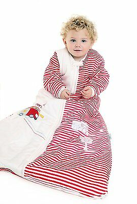 SlumberSafe Baby Sleeping Bag 3.5 Tog Fire Engine 6-18 months MEDIUM