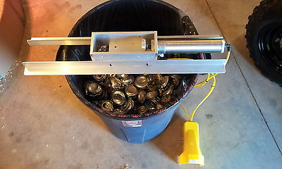 can crusher, air tool, model 2.0 w/ foot control and mounting rails pneumatic