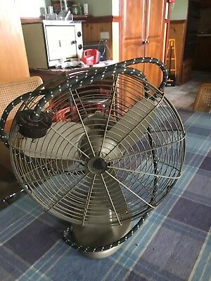 Vintage Fan GEC 10 Inch V1717 Made in England General Electric Company