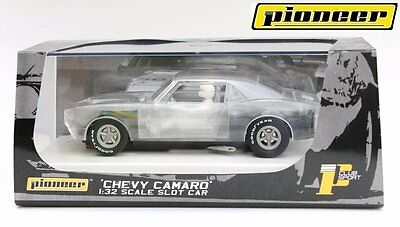 Pioneer Slot Car Chevy Camaro Clear X-Ray Special Edition - Brand New In Box