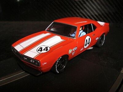 Pioneer Slot Car New Unboxed 1968 Red Chevy Camaro Z-28 Club Sport Paint Defect