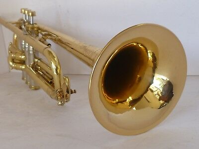Frank Holton Trumpet With Case & Mouth Piece.