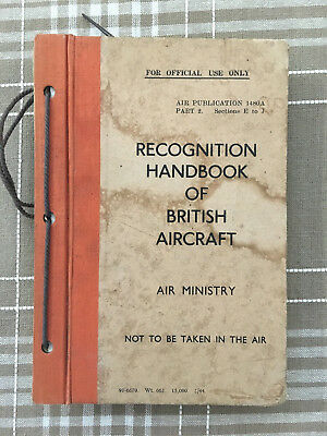 Recognition Handbook of British Aircraft by Air Ministry