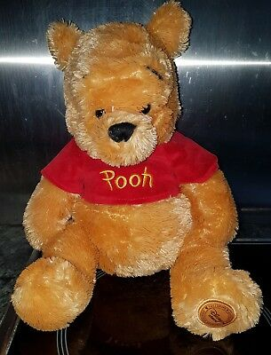 disney store exclusive Winnie the Pooh soft toy