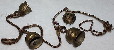 Yak Ox Horse Bells -- String of 4