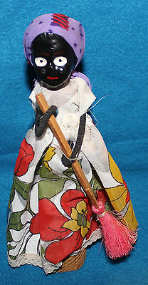 Handmade Wooden Creaciones Katy Doll from the Dominican Republic