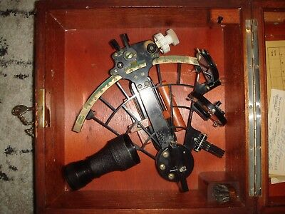 Vintage C. Plath Trommel Sextant Made in Germany 1951 No. 30562