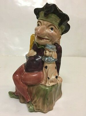Melba Ware Mr Punch Vintage Jug Ornament Collectable Kitsch Retro (605)