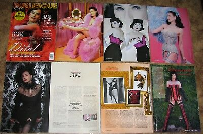 Clippings with Dita Von Teese 71 full pages